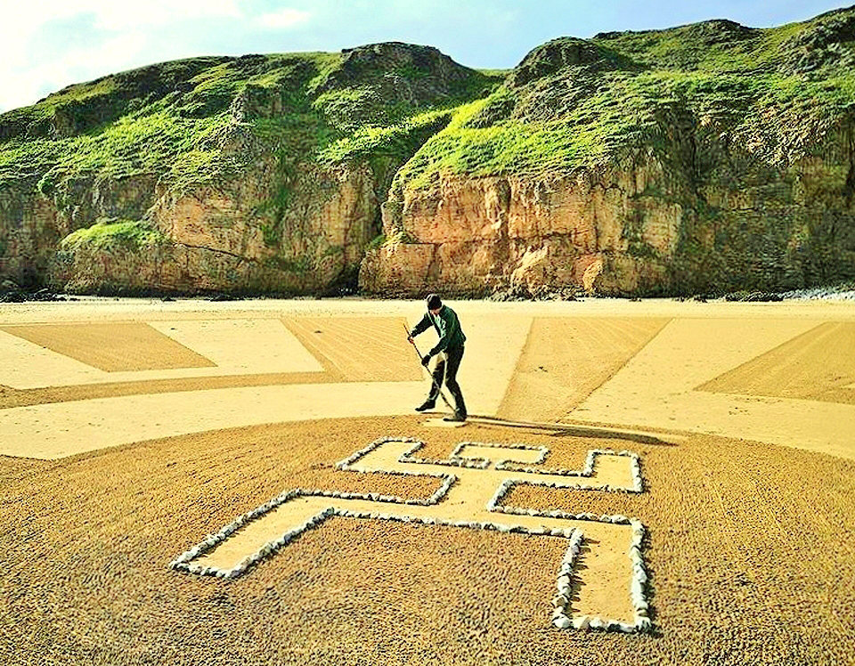 Sand 46 (Man in the Maze)