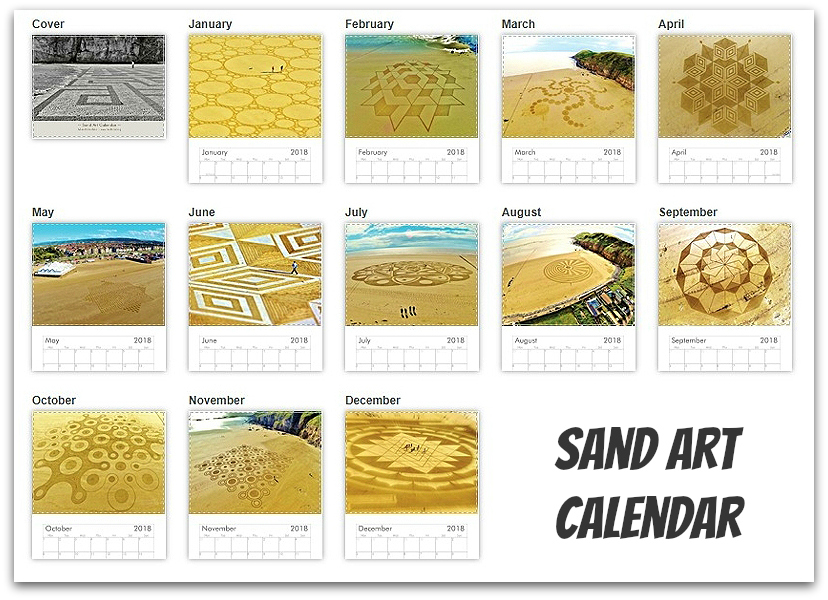 Sand art calendar julian richardson artist due to the sand arts fleeting nature very few people have the opportunity to experience it first hand by way of creating something tangible for everyone solutioingenieria Choice Image
